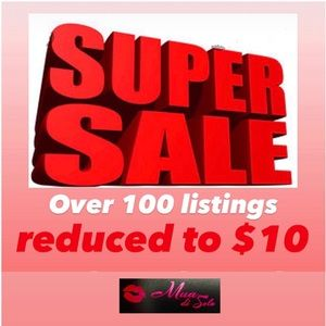 Take advantage before they are gone!